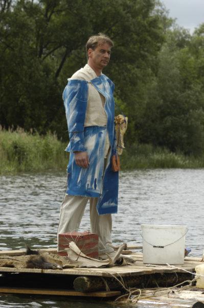 Axel Theune, Floß, Kiessee