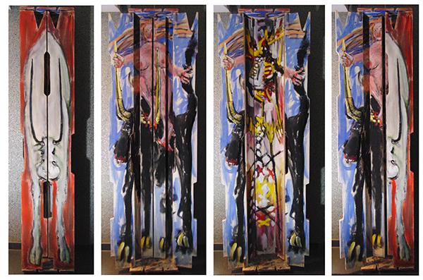 Europe, hauteur 190 cm, 1986, propriété privée