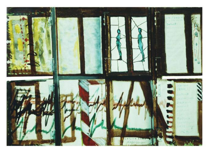 Souvenirs d'enfance, hauteur 45 cm, 1980