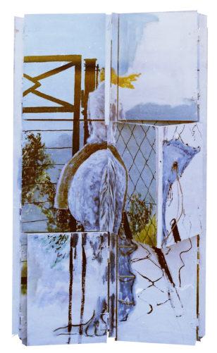 Chevauchée du quotidien, 100x55 cm, 1978