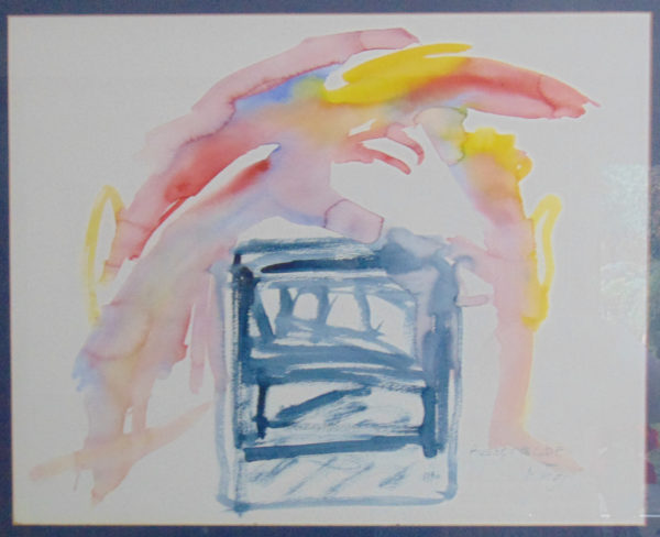 Hurlement », 50x60, 1990, propriété privée