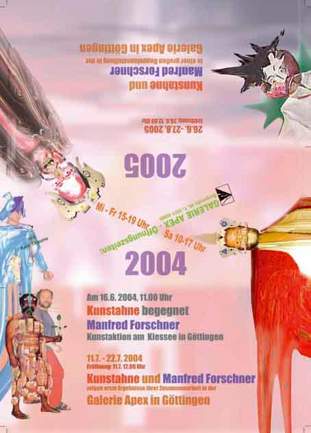 Affiche sur l'ancêtre d'art, 2004