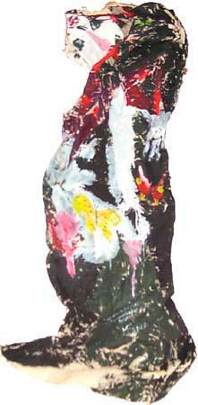 Objet mural « Classe moyenne » (place de la tablée mondaine), 2002