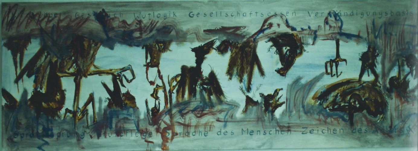 Signe de l'aigle », largeur de 200 cm, 1984
