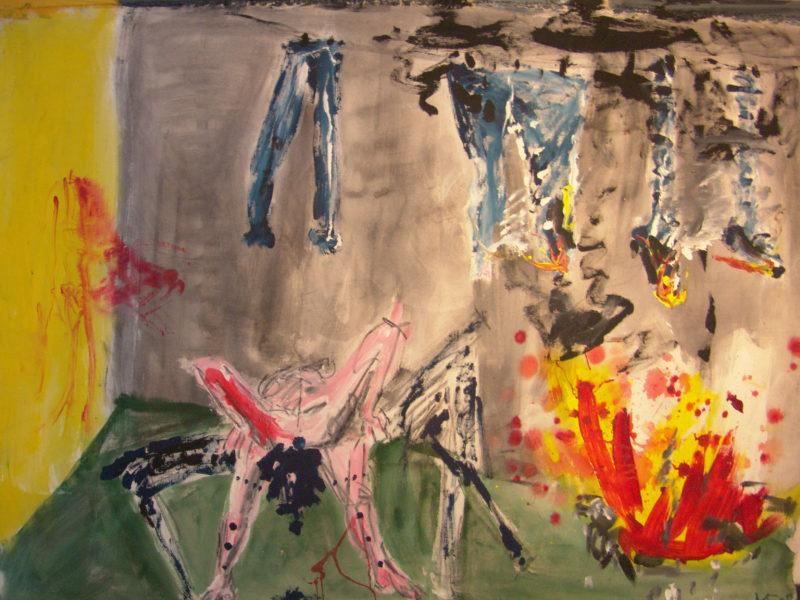 Environnement de l'ancêtre d'art », 190x140 cm, 2005