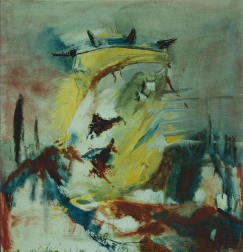 Armure en paix et liberté », 100x100 cm, 1981