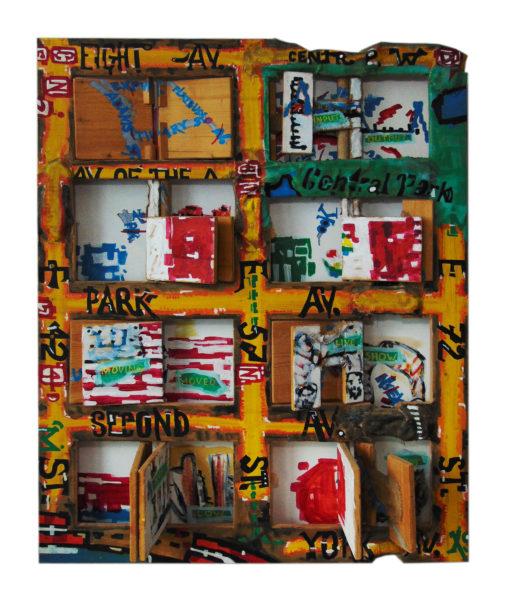 New York, 115×155 cm, 1994
