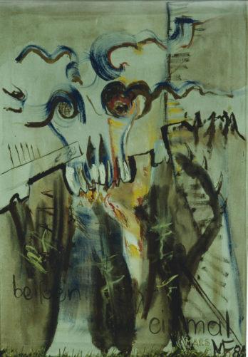 Mars », 60x100 cm, 1984